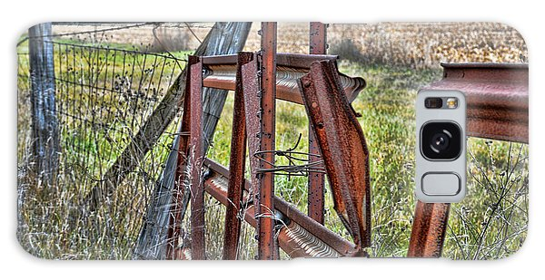 Rusty Gate Galaxy Case by Pat Cook