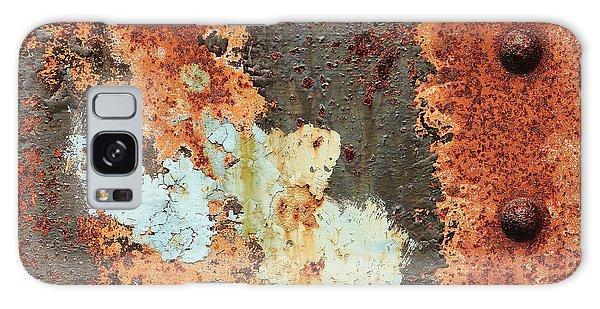 Rusty Layers Galaxy Case