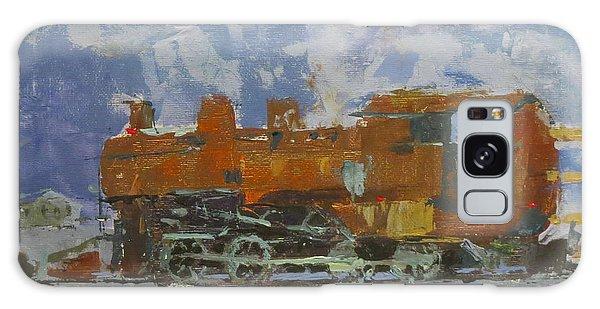 Rusty Loco Galaxy Case by David Gilmore