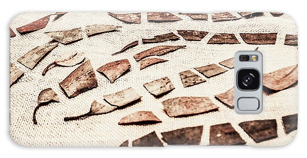 Metal Leaf Galaxy Case - Rusty Metal Leaves Cut With Scissors by Jorgo Photography - Wall Art Gallery