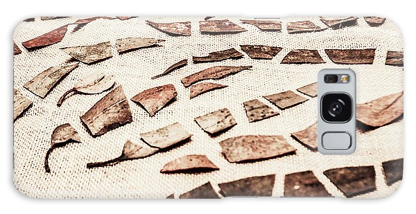 Metal Galaxy Case - Rusty Metal Leaves Cut With Scissors by Jorgo Photography - Wall Art Gallery