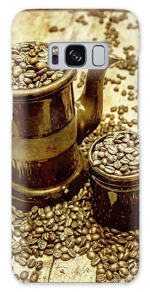 Cafe Galaxy Case - Rusty Old Cafe Still Life Artwork by Jorgo Photography - Wall Art Gallery
