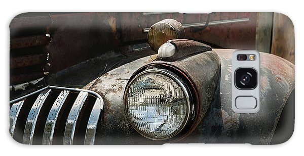 Galaxy Case featuring the photograph Rusty Old Headlight  by Kim Hojnacki