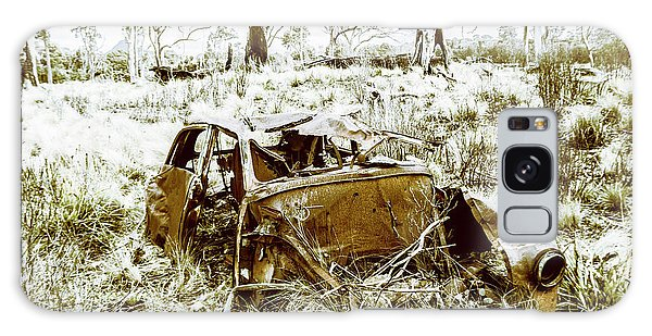 Automobile Galaxy Case - Rusty Old Holden Car Wreck  by Jorgo Photography - Wall Art Gallery
