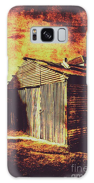 Shed Galaxy Case - Rusty Outback Australia Shed by Jorgo Photography - Wall Art Gallery