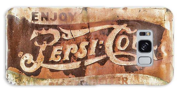 Rusty Pepsi Cola Galaxy Case by Steven Parker