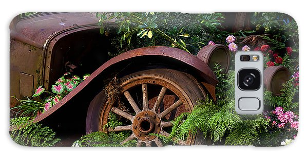 Rusty Truck In The Garden Galaxy Case