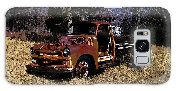 Rusty Truck Galaxy Case