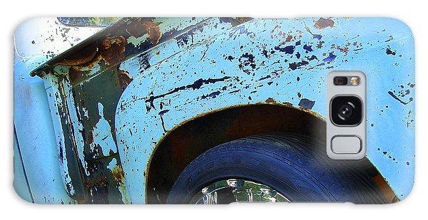 Rusty Truck With Shiny Rims Galaxy Case by Ramona Johnston