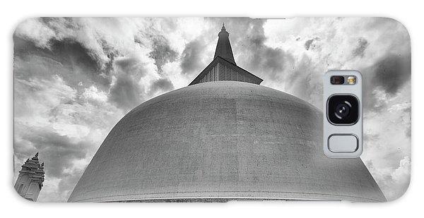 Galaxy Case featuring the photograph Ruwanwelisaya, Anuradhapura, 2012 by Hitendra SINKAR