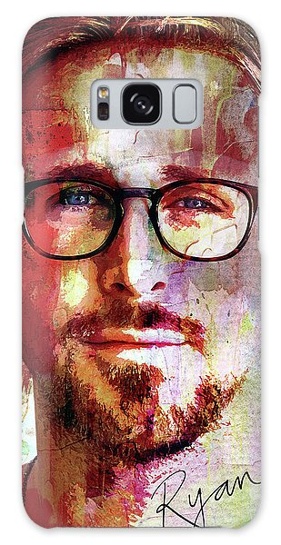 Gosling Galaxy Case - Ryan Gosling by Mal Bray