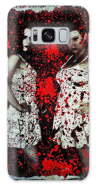 Ryli And Corinne 2 Galaxy Case by Mark Baranowski