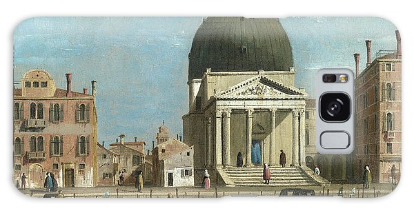 Place Of Worship Galaxy Case - S. Simeone Piccolo by Follower of Canaletto