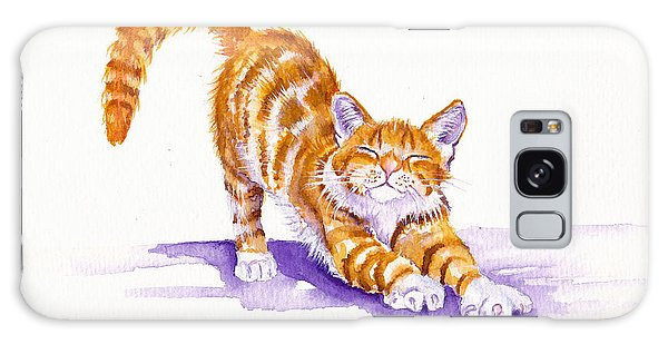 Cat Galaxy Case - S-t-r-e-t-c-h by Debra Hall