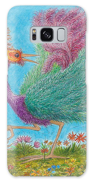 s9  Fine Feathers Galaxy Case by Charles Cater