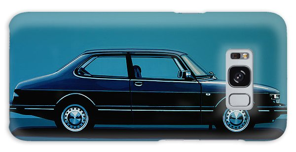 Automobile Galaxy Case - Saab 90 1985 Painting by Paul Meijering