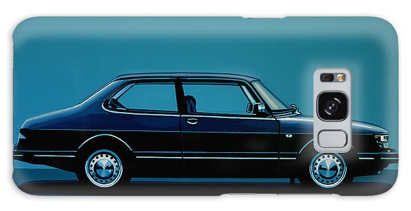 Coupe Galaxy Case - Saab 90 1985 Painting by Paul Meijering