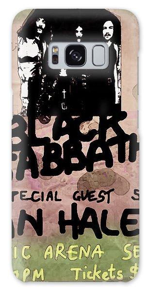 Def Leppard Galaxy S8 Case - Sabbath Tour Pittsburgh Pa 1978  by Enki Art