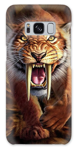 Panther Galaxy S8 Case - Sabertooth by Jerry LoFaro