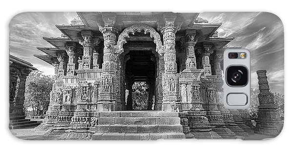 Galaxy Case featuring the photograph Sabhamandapa, Modhera, 2008 by Hitendra SINKAR
