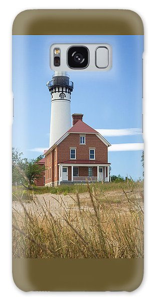 Sable Point Lighthouse Galaxy Case