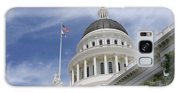 Sacramento Capitol Building Galaxy Case
