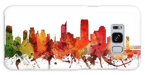 Colours Galaxy Case - Sacramento Cityscape 04 by Aged Pixel