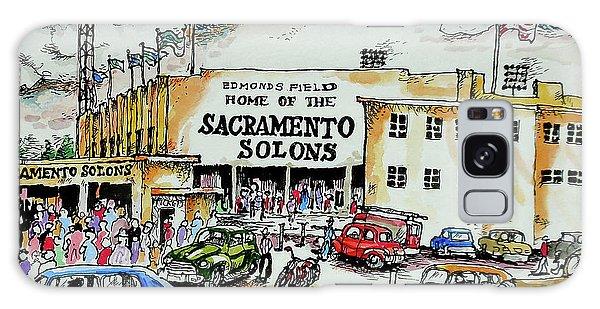 Sacramento Solons Galaxy Case by Terry Banderas