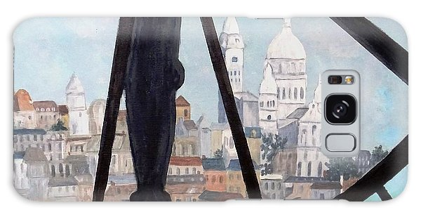 Sacre Coeur From Musee D'orsay Galaxy Case by Diane Arlitt