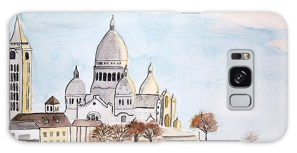 Sacre Coeur Galaxy Case