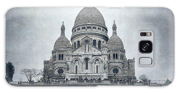 Sacred Heart Galaxy Case - Sacre Coeur Paris II by Joan Carroll