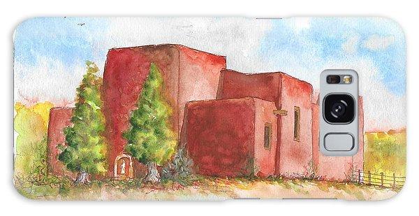 Sacred Heart Catholic Church, Nambe, New Mexico Galaxy Case