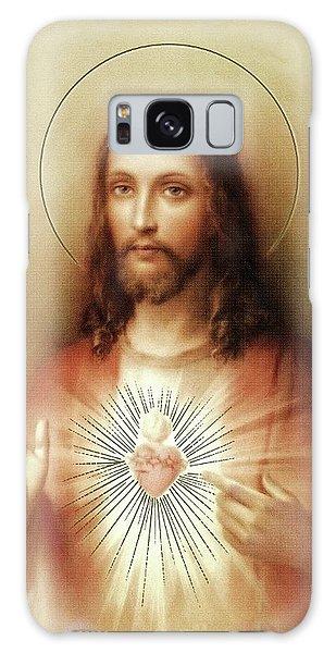 Sacred Heart Of Jesus Galaxy Case