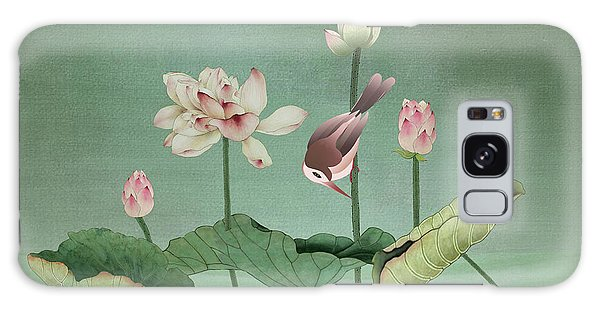 Sacred Lotus Flower Galaxy Case