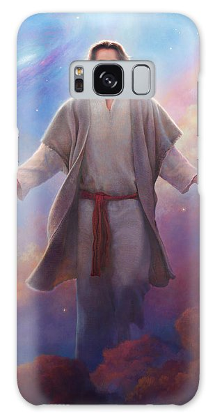 Galaxy Case featuring the painting Sacred Space by Greg Olsen