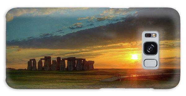 Sacred Sunset Galaxy Case