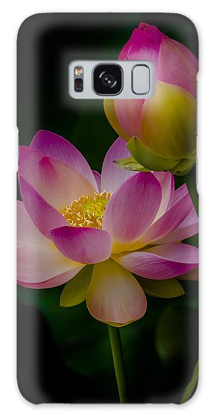 Sacred Water Lily 4 Galaxy Case