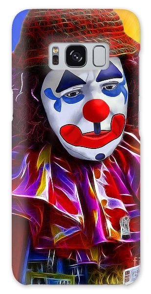 Sad Clown Galaxy Case