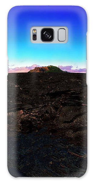 Saddle Road Humuula Lava Field Big Island Hawaii  Galaxy Case
