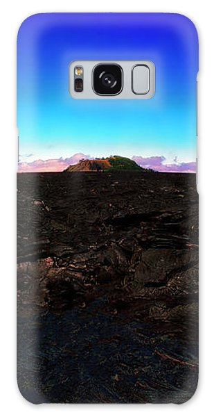 Saddle Road Humuula Lava Field Big Island Hawaii  Galaxy Case