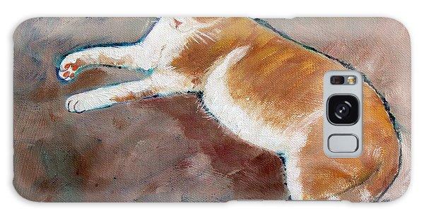 Saddle Tramp- Ranch Kitty Galaxy Case