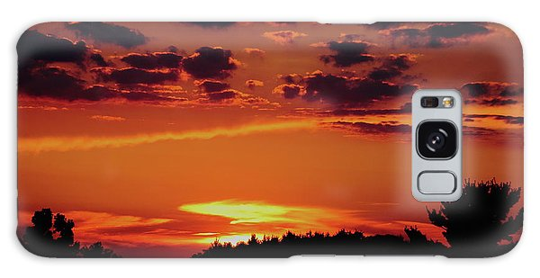 Sadie's Sunset Galaxy Case by Bruce Patrick Smith