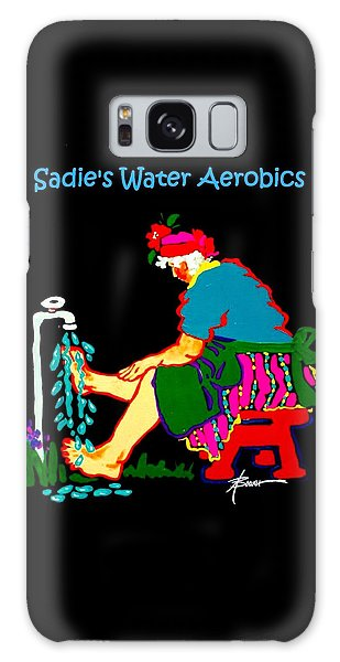 Sadie's Water Aerobics  Galaxy Case