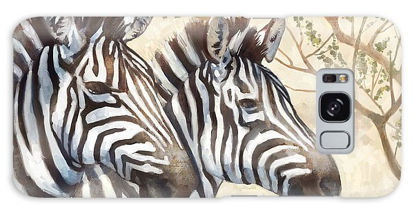 Zebra Galaxy S8 Case - Safari Sunrise by Mauro DeVereaux