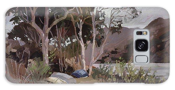 Safe Shelter  - Plein Air - Catalina Island Galaxy Case