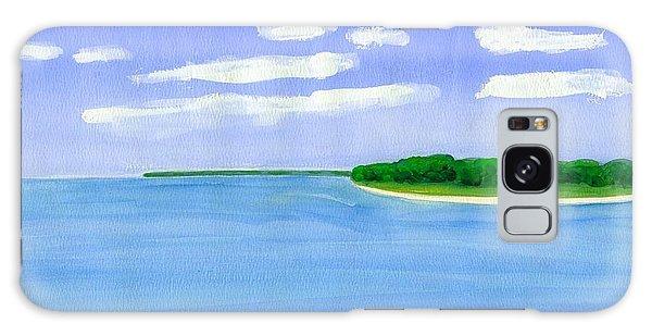 Sag Harbor, Long Island Galaxy Case by Dick Sauer