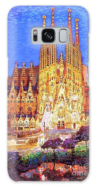 Architecture Galaxy Case - Sagrada Familia At Night by Jane Small