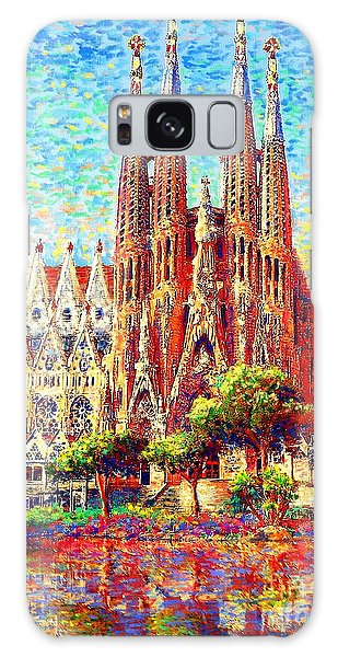 Sagrada Familia Galaxy Case