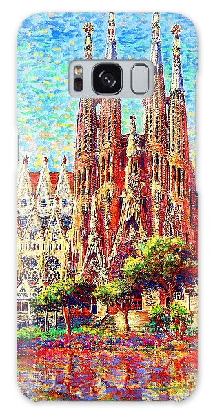Joseph Galaxy Case - Sagrada Familia by Jane Small