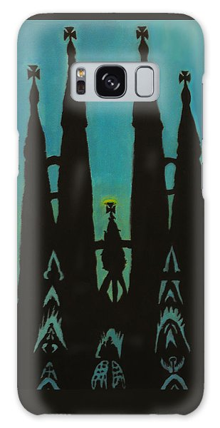 Sagrada Shadows Galaxy Case